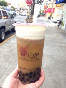 Nothing like the joy of walking with a boba in hand